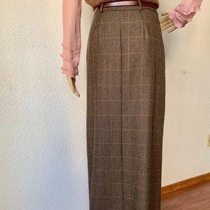 Harold's Skirts - Harold Alpaca Wool Midi Pencil lined vintage skirt